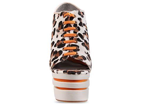 Senso In Snow Leopard Orange Laces Madison