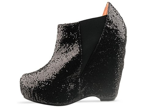 Senso In Black Glitter Narcisco Glitter