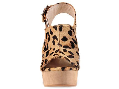 Senso In Beige Black Leopard Prance
