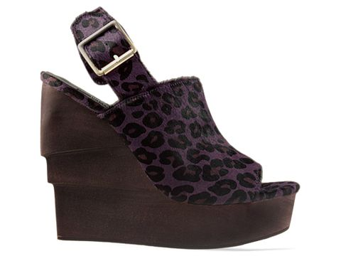 Senso In Purple Black Leopard Prance