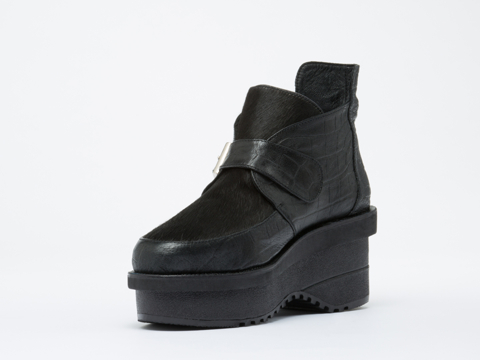 Shakuhachi In Black Geepers Creepers Flat