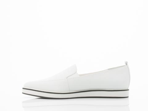 Shellys London In White Jeune