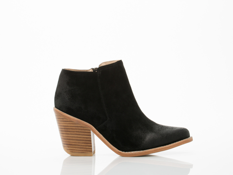 Sol Sana Alex II Boot in Black Distressed size 12.0