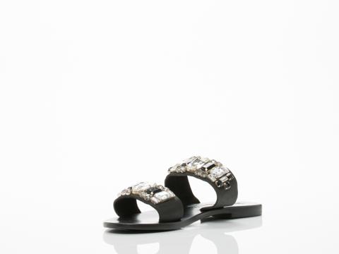 Sol Sana In Black Drake Sandal