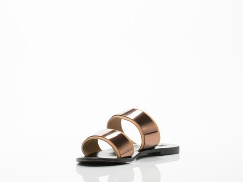Sol Sana In Tan Bronze Evie Sandal