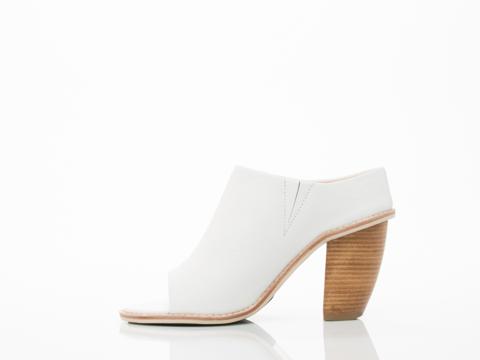 Sol Sana In White Liza II Mule