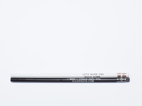 Solestruck In Multi Pencil