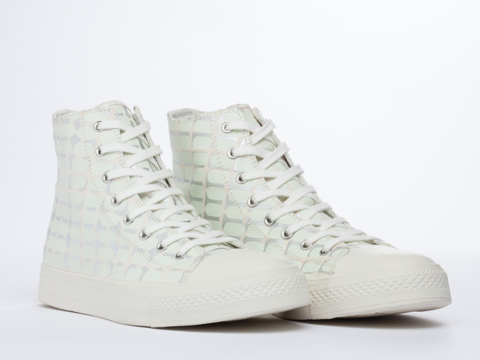 Starstyling Berlin In White Glow Silver Camou High Top Mens