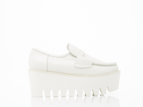 Stolen Girlfriends Club In White Factory Floor Shoes