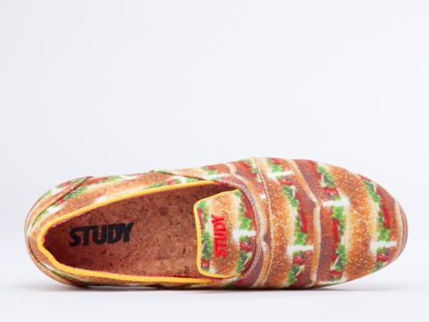 Study In Burger Slip Womens