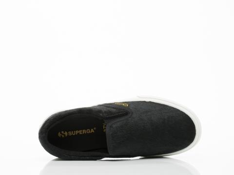 Superga In Black 2311 Leahorse