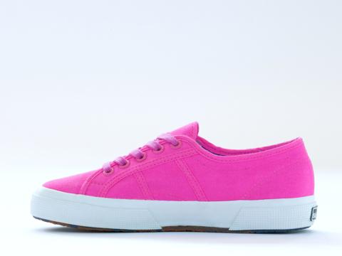 Superga In Pink Neon 2750 COTU Fluo