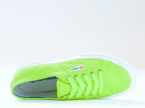 Superga In Yellow Neon 2750 COTU Fluo