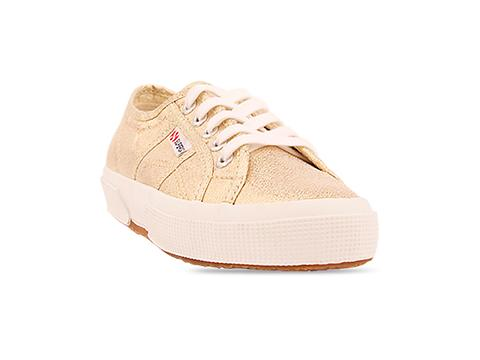Superga In Gold 2750 Lame W