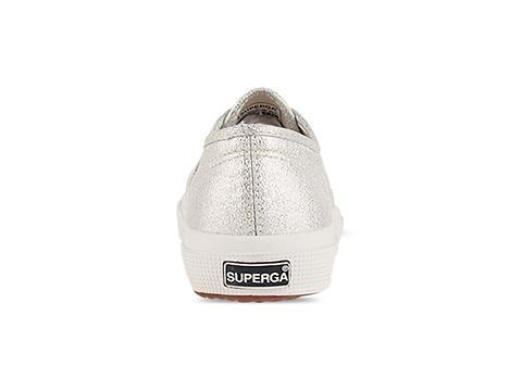 Superga In Silver 2750 Lame W