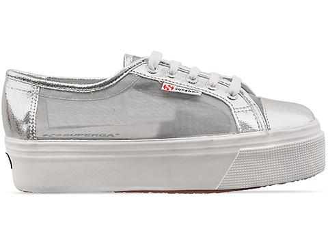 Superga In Silver 2790 NetW