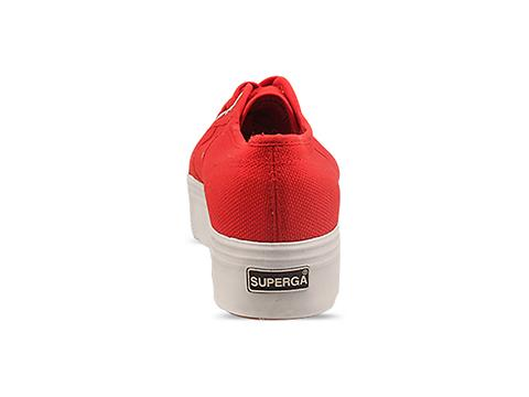 Superga In Red White 2790 Up And Down
