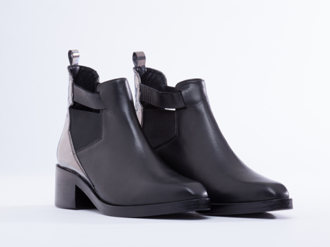 Surface To Air In Black Zion Boot