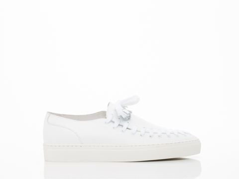 Swear In White Smooth Leather Blake 2 Mens