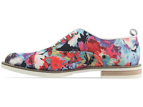 Swear In Floral Canvas Chaplin 1 Mens