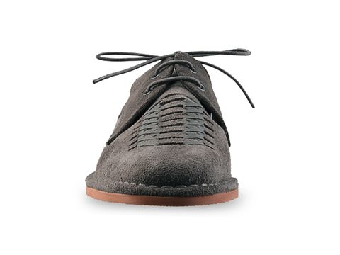 Swear In Grey Suede Davis Mens