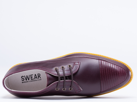 Swear In Aubergine Yellow Vienetta 13
