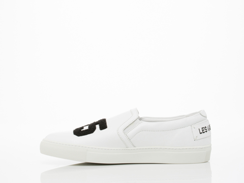 Swear X Les (Art)ists In White Smooth Leather Casual Mens