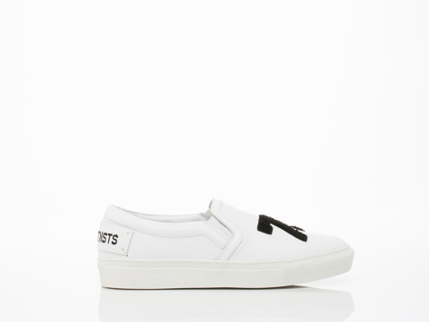 Swear X Les (Art)ists In White Smooth Leather Casual Womens
