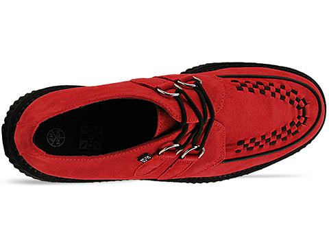 T.U.K. In Red Creeper Low