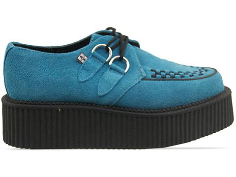 T.U.K.Turquoise Suede