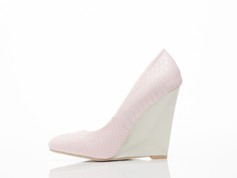 Takeout In Pink Croc Wright