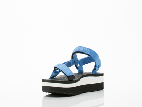 Teva In French Blue Flatform Universal Womens