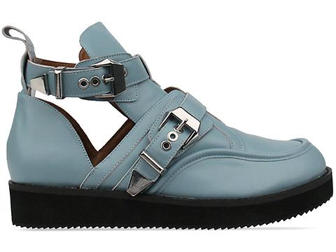 The Damned In Powder Blue Leather Colt Man