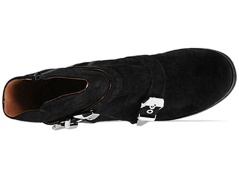The Damned In Black Suede Black Corgan