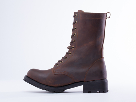 The Damned In Brown Distressed Hank