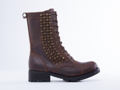 The Damned In Brown Distressed Bronze Hank Stud