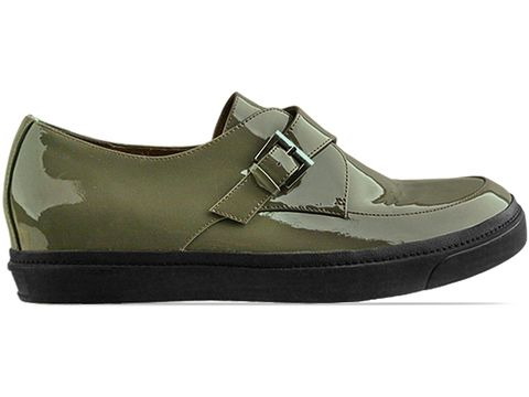 The Damned In Khaki Patent Monk Man