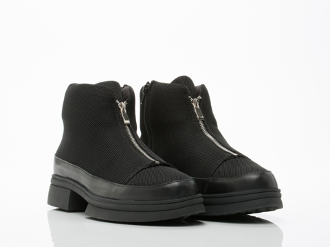 The Damned In Black Mesh Toland Mens