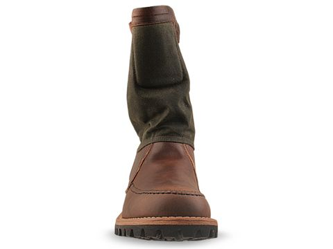 Timberland Boot Company In Brown Distressed 76122 Tackhead 10 Inch Boot Mens