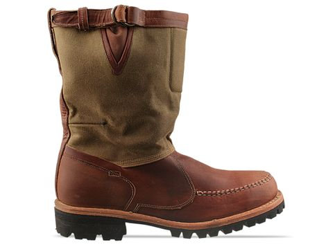 Timberland Boot Company In Rust Distressed 76123 Tackhead 10 Inch Boot Mens