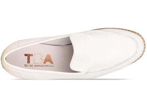 To Be Announced In White Leather Erma
