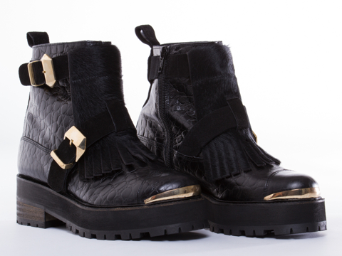 To Be Announced In Black Leather Felony