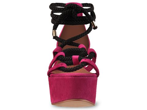 To Be Announced In Magenta Suede NOONER