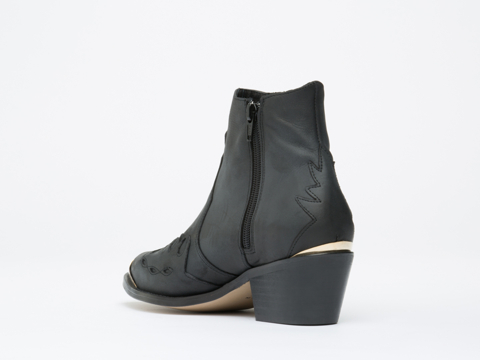To Be Announced In Black Leather Pony
