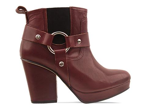 To Be Announced In Burgundy Leather Punch