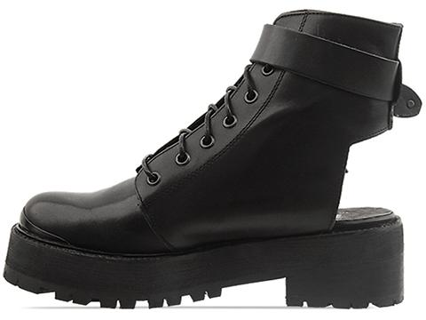 To Be Announced In Black Leather Rocks
