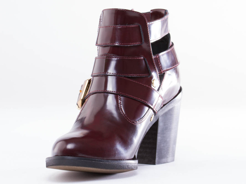 To Be Announced In Burgundy Leather Trespass