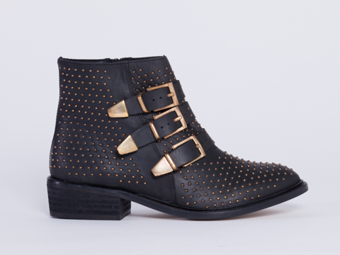 To Be Announced In Black Leather Gold Who