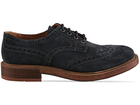 Topman In Navy Butler Brogue