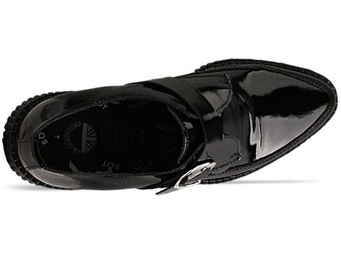 Underground In Black Patent Apollo Boy